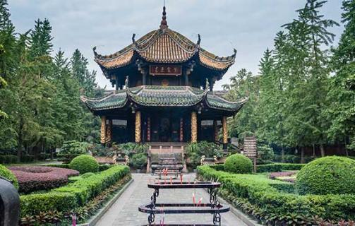 The Wuhou Temple